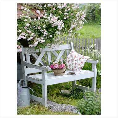 garden bench - Might be able to find something similar at Tai Pan Trading