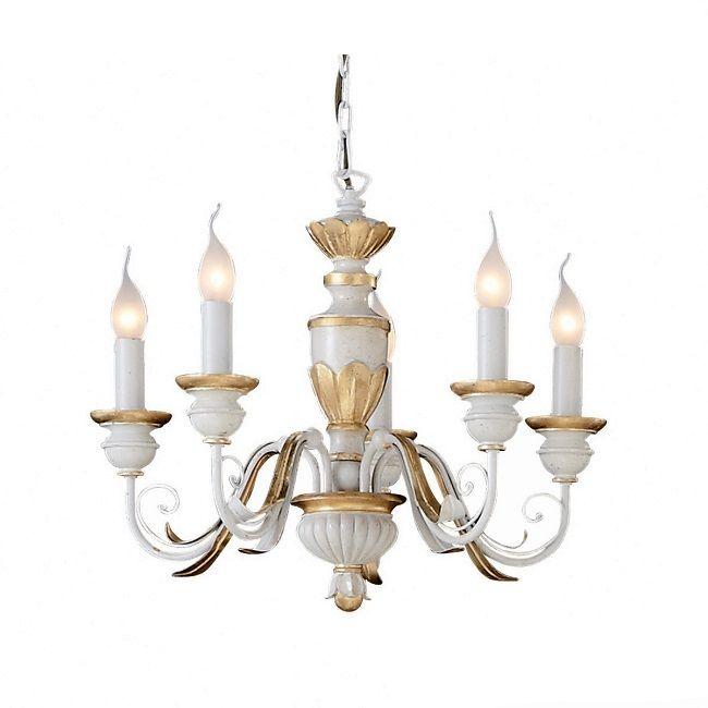 Πεντάφωτος κλασσικός #πολυελαιος Ideal Lux Firenze με σκελετό από ρητίνη σε opal λευκό με χειροποίητα μεταλλικά μπράτσα και χρυσά φύλλα. Είναι ιδανικός να δώσει έναν τόνο πολυτέλειας στο #σαλονι σας. Βρείτε τον σε τρία μεγέθη. Για περισσότερη οικονομία στην κατανάλωση ενέργειας επιλέξτε λαμπτήρες #LED: http://kourtakis-lighting.gr/36-lamptires-led-E14