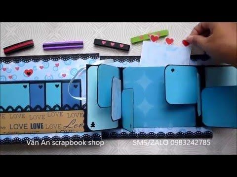 Quick Simple Scrapbook | The Sucrafts - YouTube