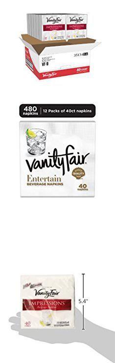 Vanity Fair Beverage Napkins. Vanity Fair Impressions Beverage Napkins, 480 Count Paper Napkins (12 Packs of 40 Napkins) (Packaging Design May Vary).  #vanity #fair #beverage #napkins #vanityfair #fairbeverage #beveragenapkins