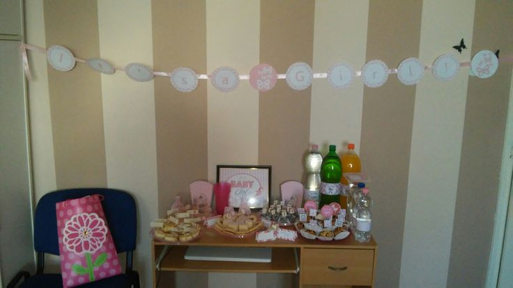 Baby girl shower party