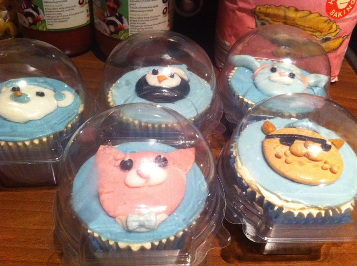 OCTONAUTS cupcakes!