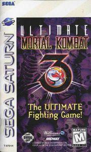 Ultimate Mortal Kombat 3 - Saturn Game