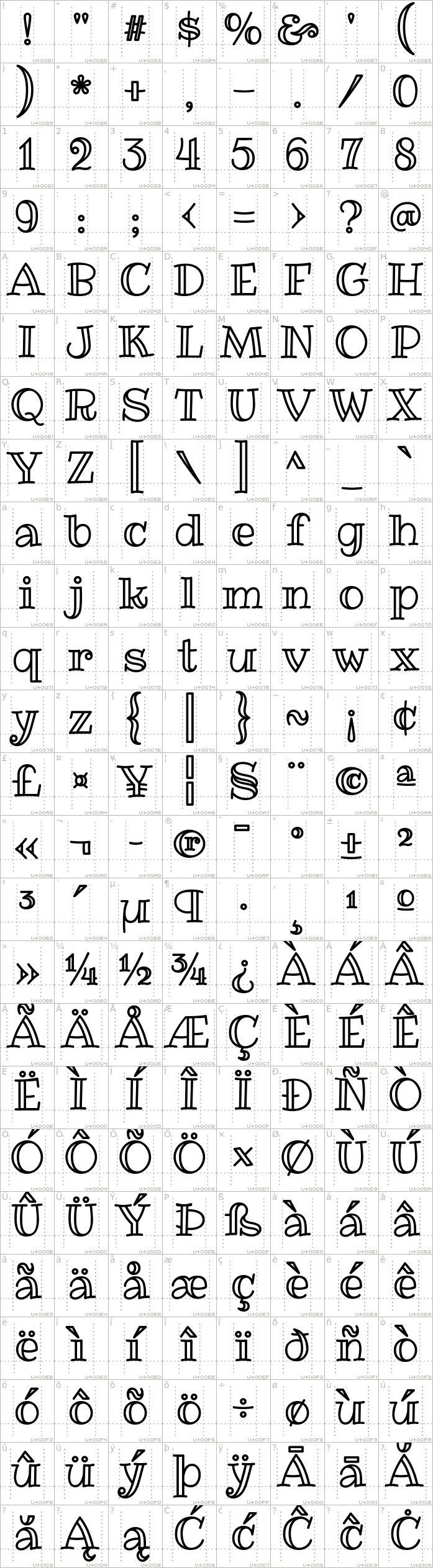 ribeye marrow font