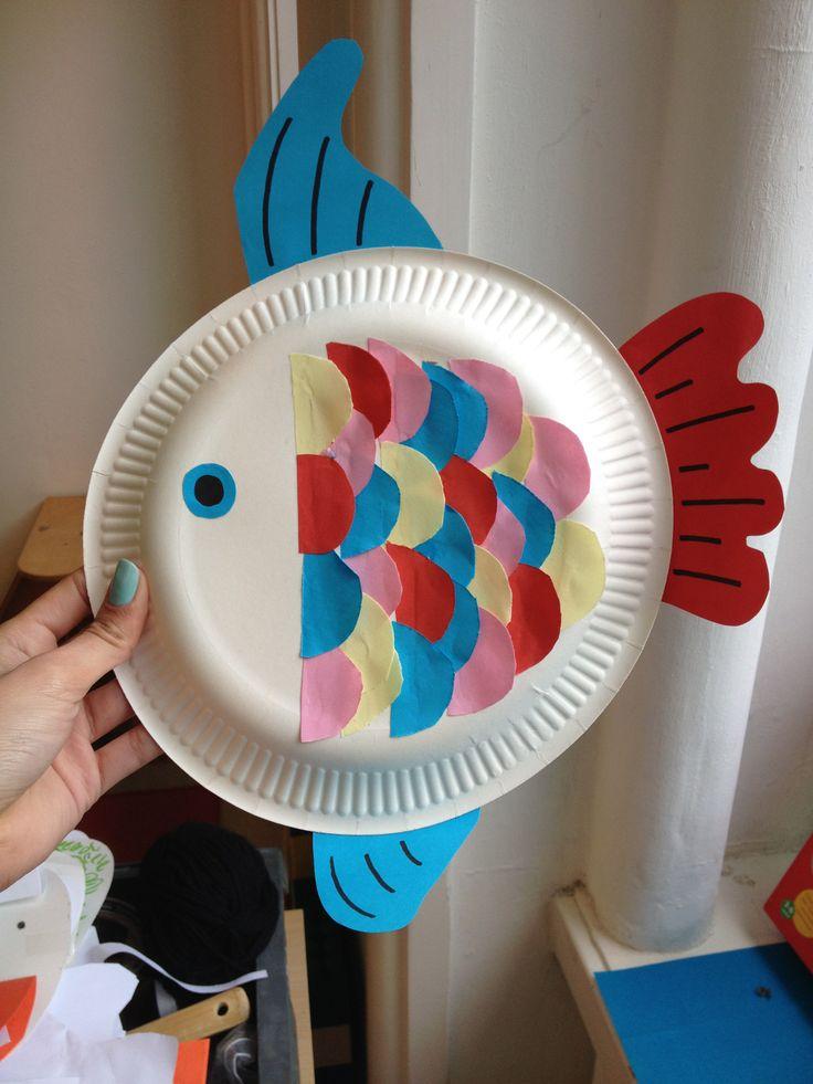 """Visje. Kan goed gecombineerd worden met het boek """"het mooiste visje van de zee"""""""