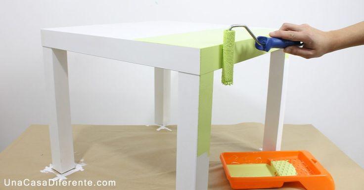 Cómo pintar muebles de melamina