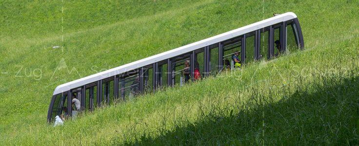 #Zugerbergbahn im Kanton #Zug in der Schweiz (Switzerland)