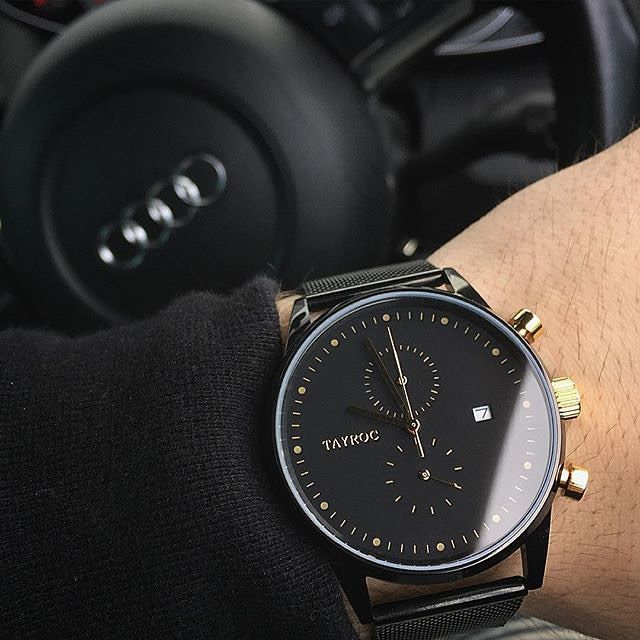 New watches by @tayrocwatches coming soon! Follow @tayrocwatches for more affordable & luxurious watches www.tayroc.com