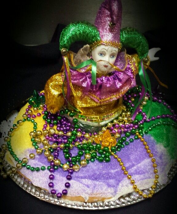 Mardi Gras King Cake | Cakes I like | Pinterest