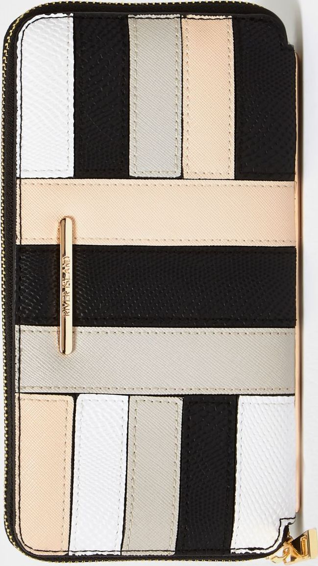 •Website: http://www.cuteandstylishbags.com/portfolio/river-island-cream-block-panel-zip-purse/ •Item: River Island Cream Block Panel Zip Purse