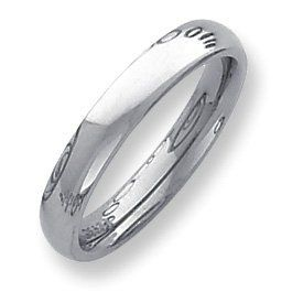 Palladium Heavy Weight Comfort Fit 4.00mm Band Ring - Size 5 - JewelryWeb JewelryWeb. $366.60. Save 50% Off!