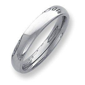 Palladium Heavy Weight Comfort Fit 4.00mm Band Ring - Size 10.5 - JewelryWeb JewelryWeb. $468.80