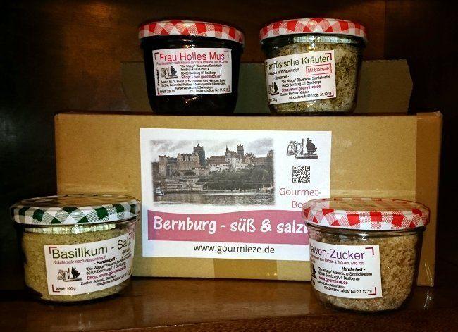 Gourmet-Box Bernburg - süß & salzig #bernburg #saale #salzland #food #vegan #veggie #shopping #geschenk