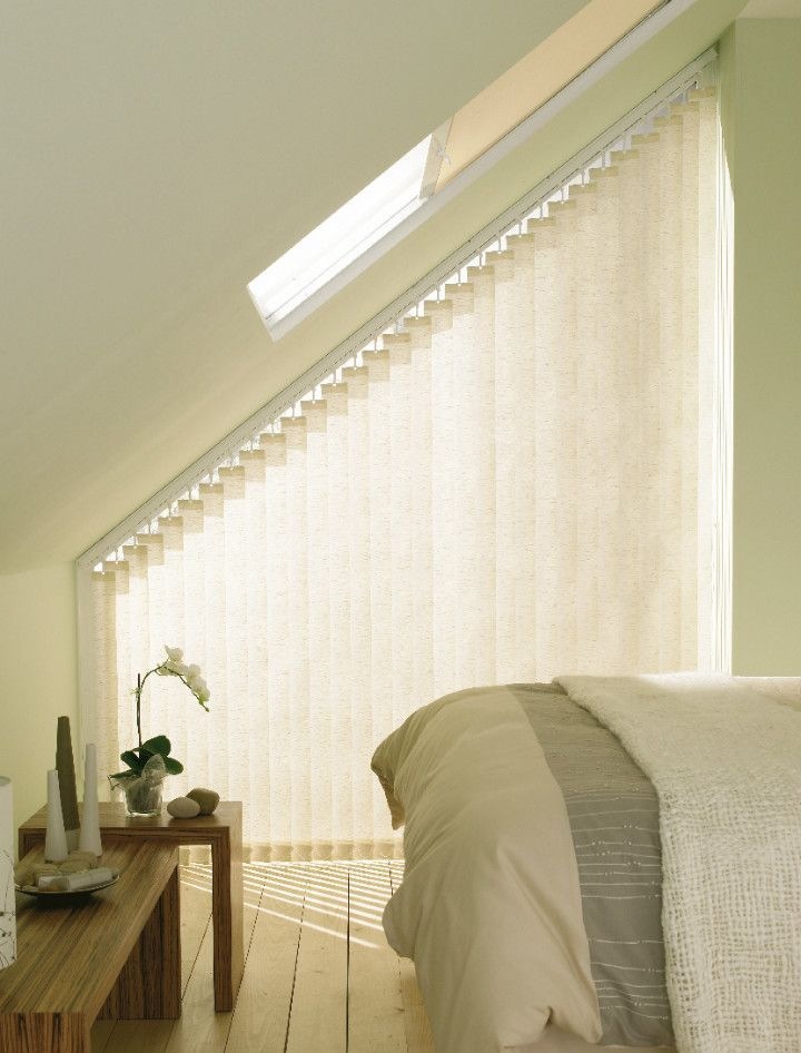 Use Made To Measure Cream Vertical Blinds Create Much Needed Privacy Verticalblindshack Blindsman Verticalblindswindow