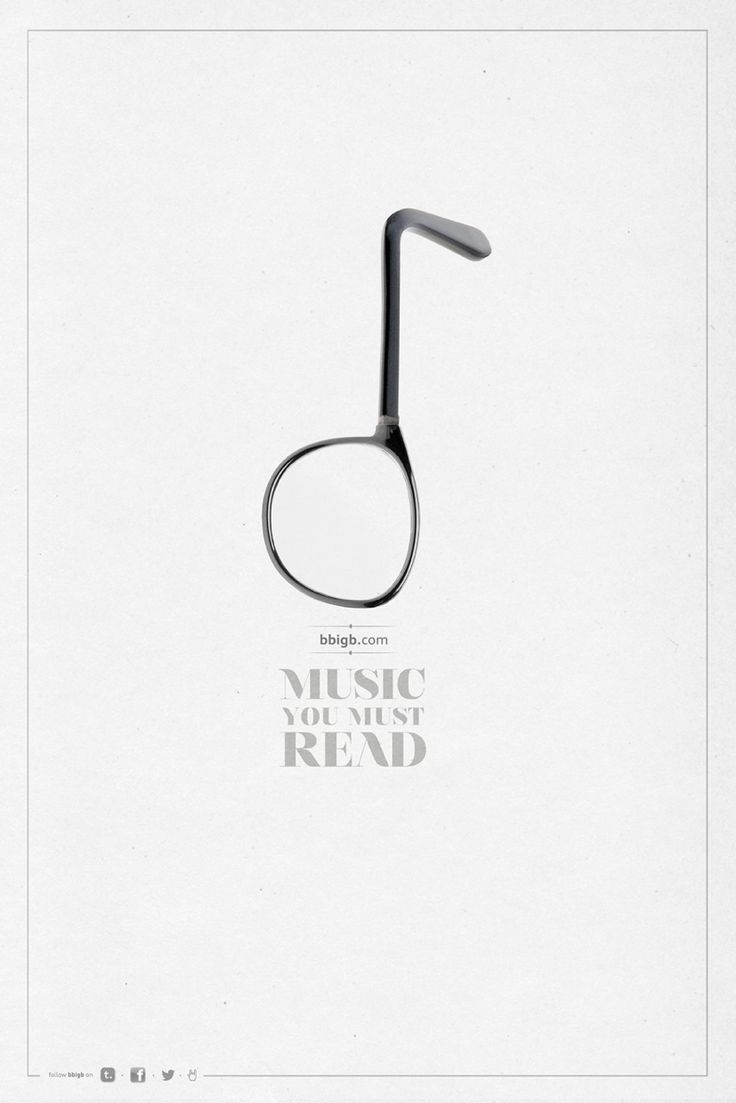 Music you must read.