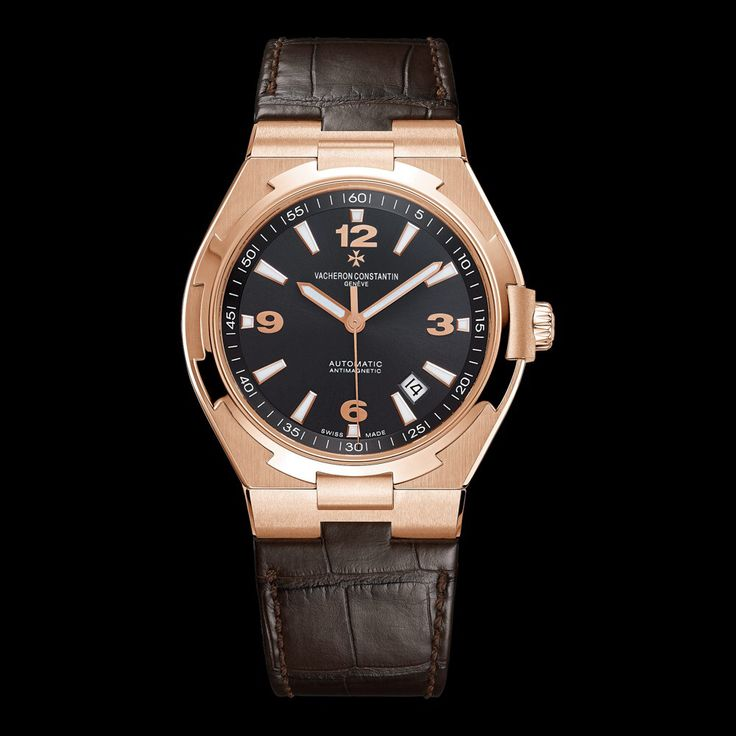OVERSEAS Reference: 47040/000R-9666 Shape: Round Diameter (mm):   42.00 Thickness (mm): 9.7 Material of the case: 18K 5N pink gold Water-resistance (bar):  15 Informations Watch strap material: alligator Mississippiensis Watch strap color: dark brown Type of buckle: Deployant buckle Buckle material: 18K 5N pink gold Specificity:   Anti-magnetic protection to 25,000 A/m