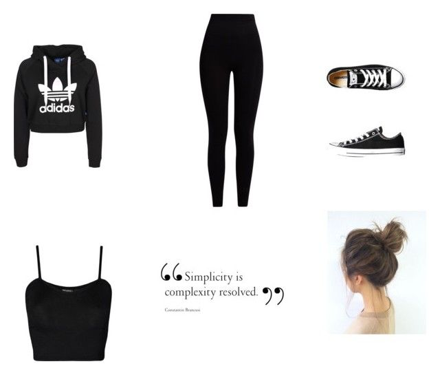 """""""Untitled #14"""" by xcon27x on Polyvore featuring Pepper & Mayne, Converse and WearAll"""