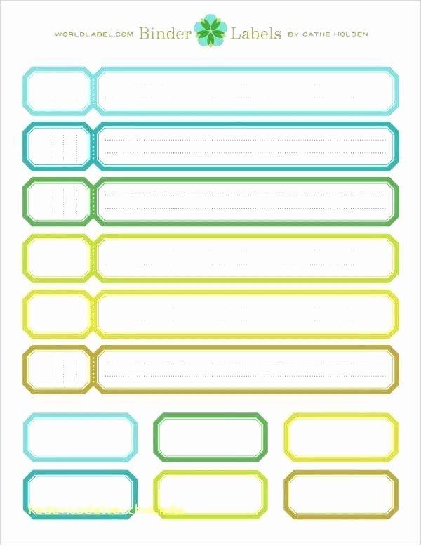 Binder Label Template Free In 2020 Binder Spine Labels Label