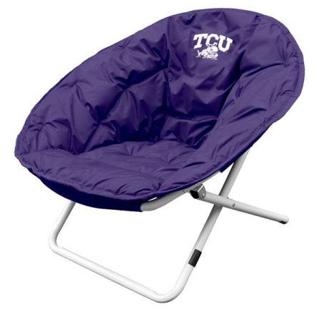 Tcu Horned Frogs Official Logo Sphere Tailgate Chair, Multicolor