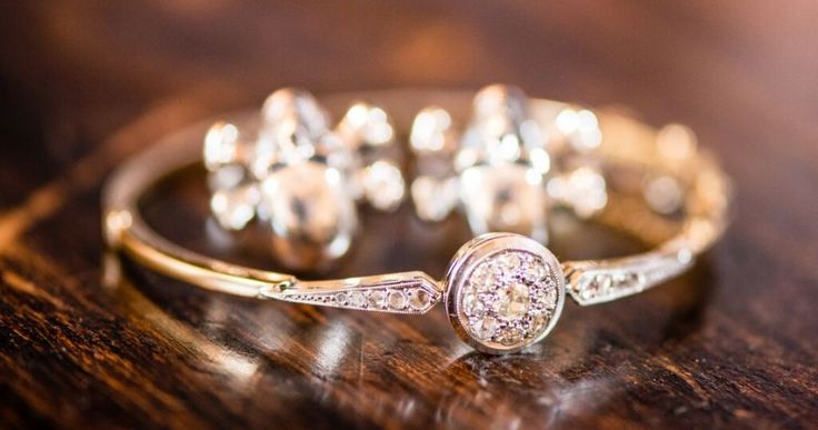 #engagement ring, photographed on the #wedding day