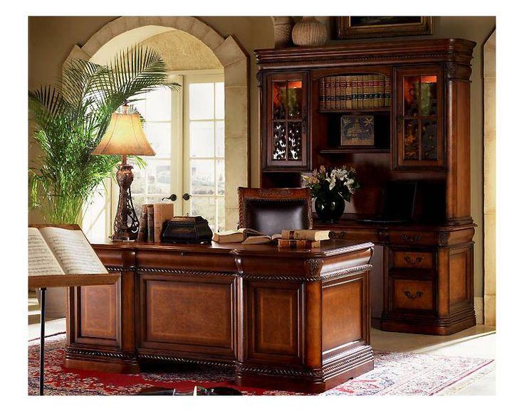 Napa Executive Desk Features Include Locking File