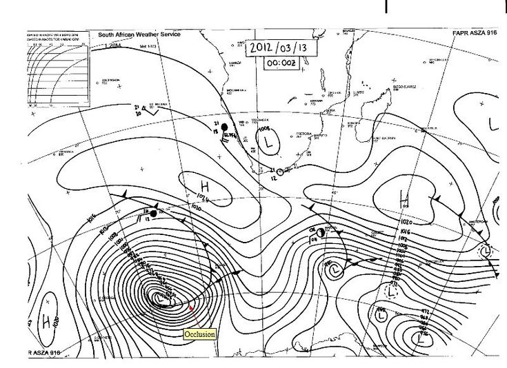 Image result for synoptic chart southern hemisphere