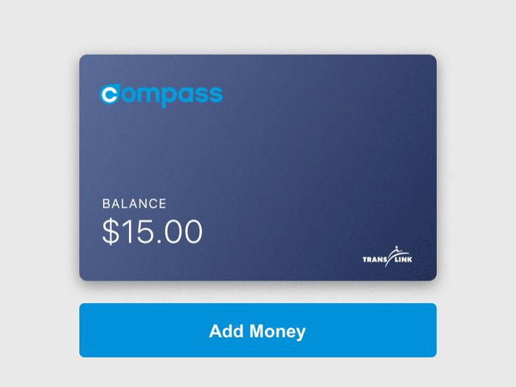 Compass Card Top Up Concept by Pawel Pawelak