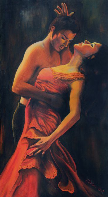 flamenco ballerina