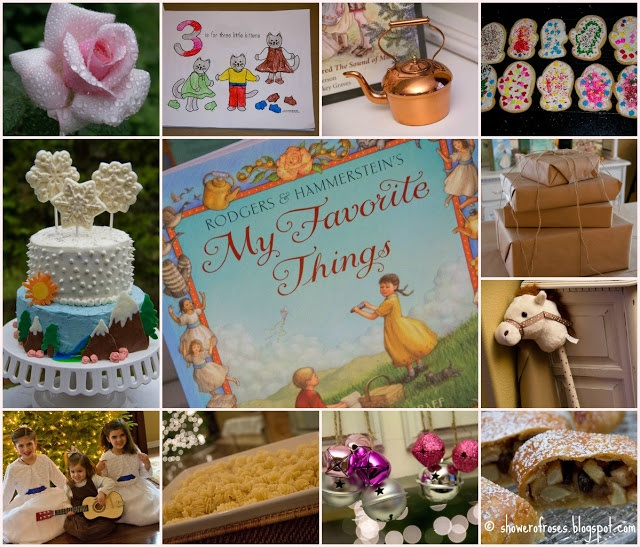 Shower of Roses: My Favorite Things :: A Sound of Music Birthday Party! or baby shower