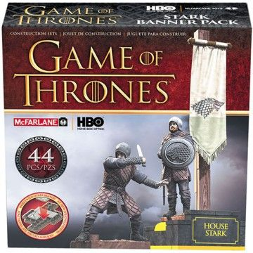 Game of Thrones: House Stark Banner Pack Construction Set
