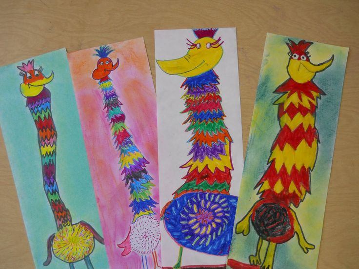 elementary art | The Elementary Art Room!: Dr. Seuss Creations: Tizzled Topped Tufted ...