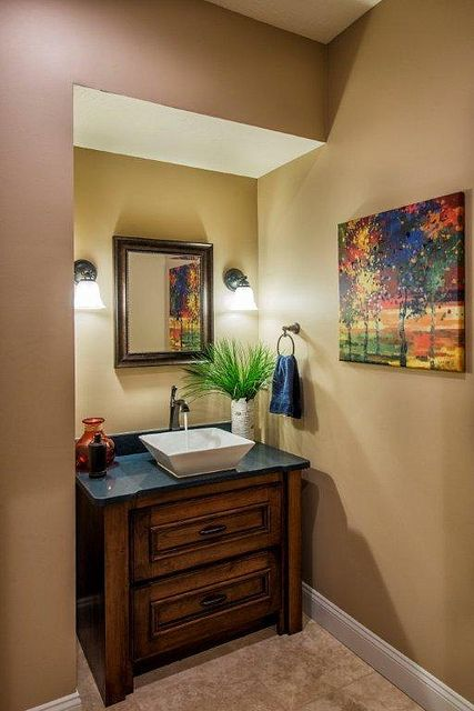 80 Best Small Powder Room Images On Pinterest Bathroom Murals And Paint