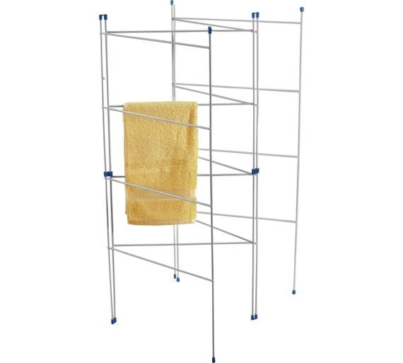 Buy HOME 8m 4 Fold Indoor Clothes Airer at Argos.co.uk - Your Online Shop for Washing lines and airers, Laundry and cleaning, Home and garden.