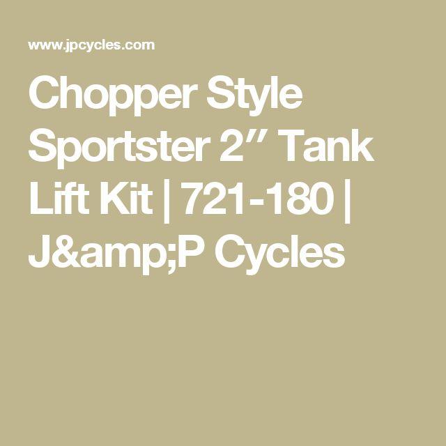 Chopper Style Sportster 2″ Tank Lift Kit | 721-180 | J&P Cycles