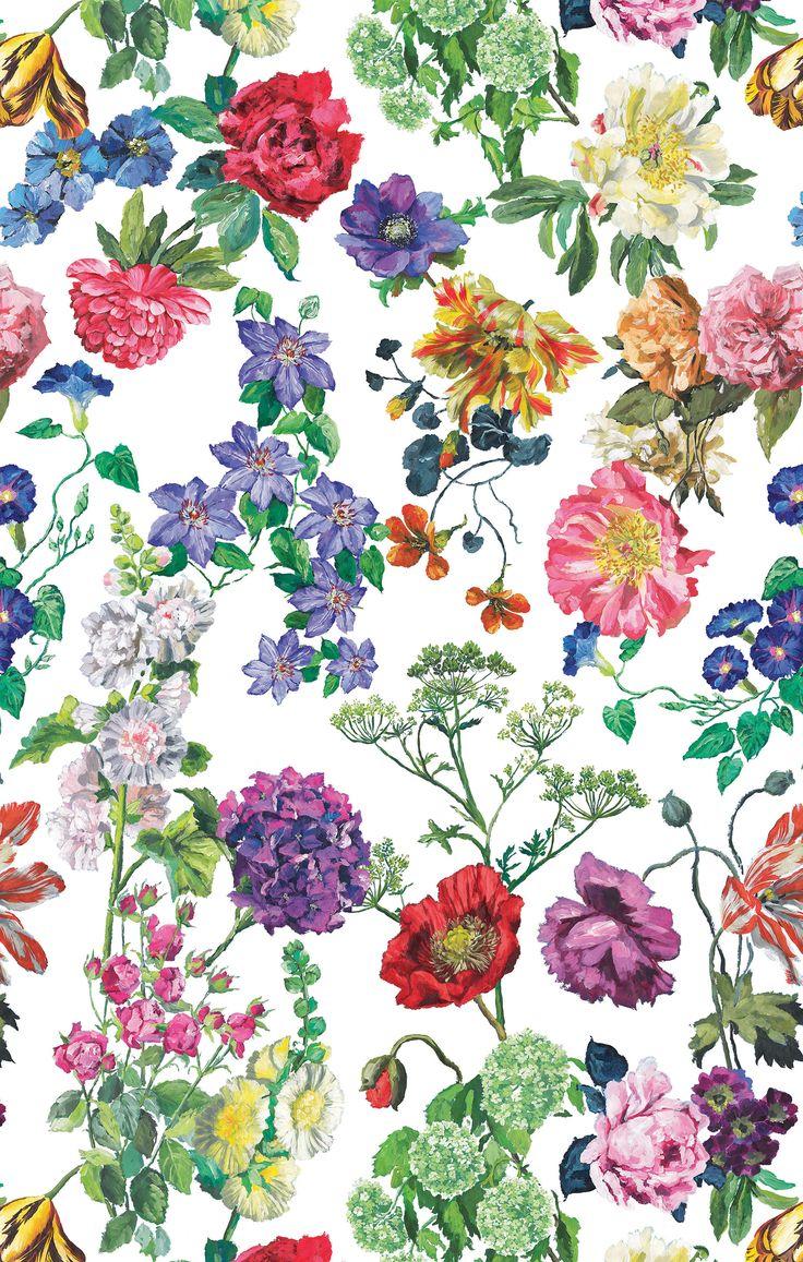 Designers Guild Rosa Alexandria digitally printed fabric