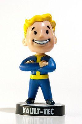 Fallout 3 Vault Tec Collectors Edition Bobblehead