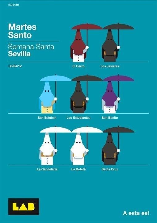 Programa Martes Santo Sevilla