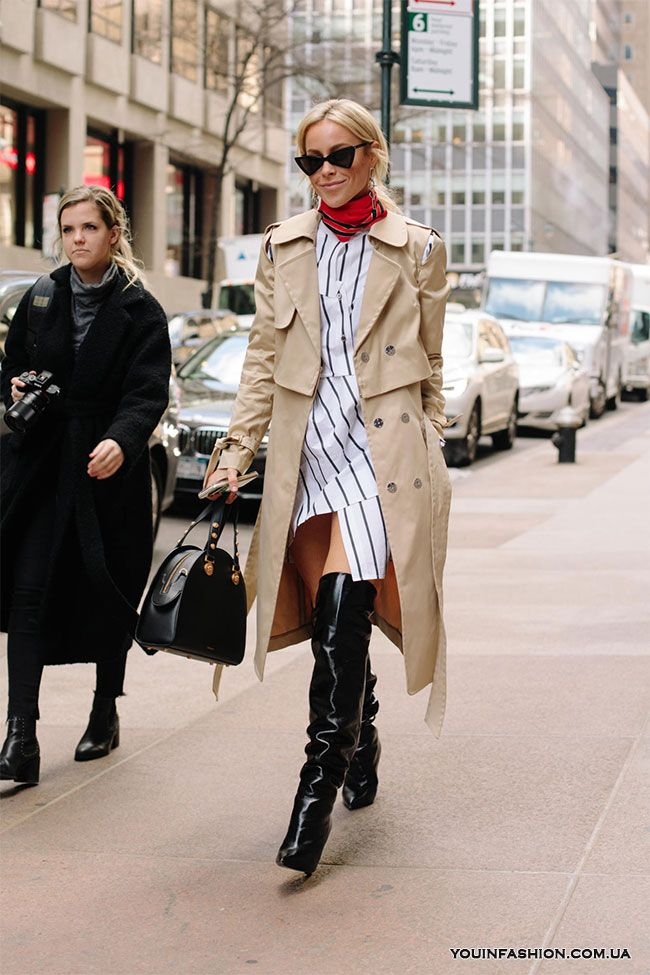 Street style на Неделе моды в Нью-Йорке осень-зима 2018-2019   Girls ... 61f72b80650