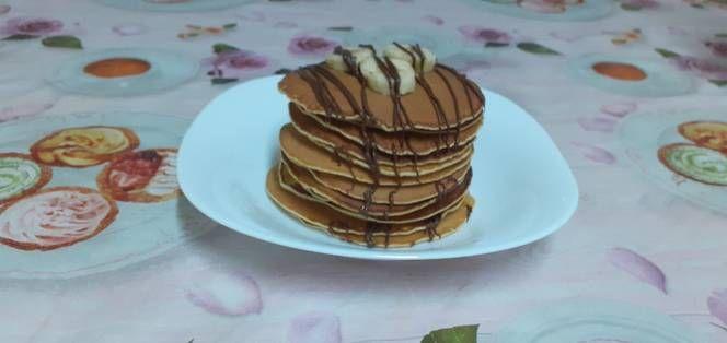 البانكيك الياباني بالصور من La Cuisine D Arc En Ciel Recipe Food Breakfast Pancakes