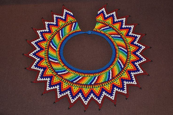 Choker boho style from Colombia – a unique product by luloplanet on DaWanda #embera #jewelry #beads