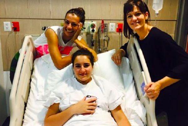 Cecilia Galiano aclara operación de su hija en el pecho