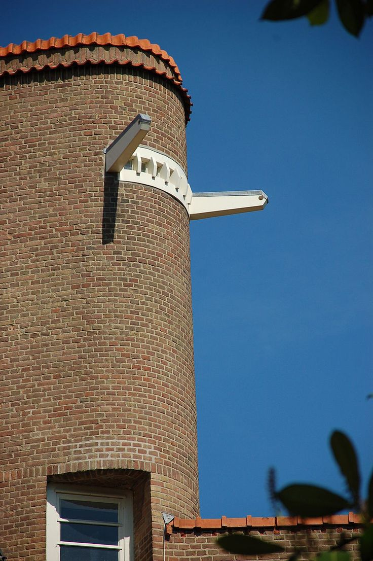 Amsterdamse School bouw door M. de Klerk en Piet Kramer, woningbouwvereniging De Dageraad, Amsterdam 1918-1923
