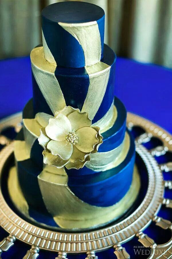 blue gold wedding cakes blue and gold wedding cakes sigma gamma rho 11987