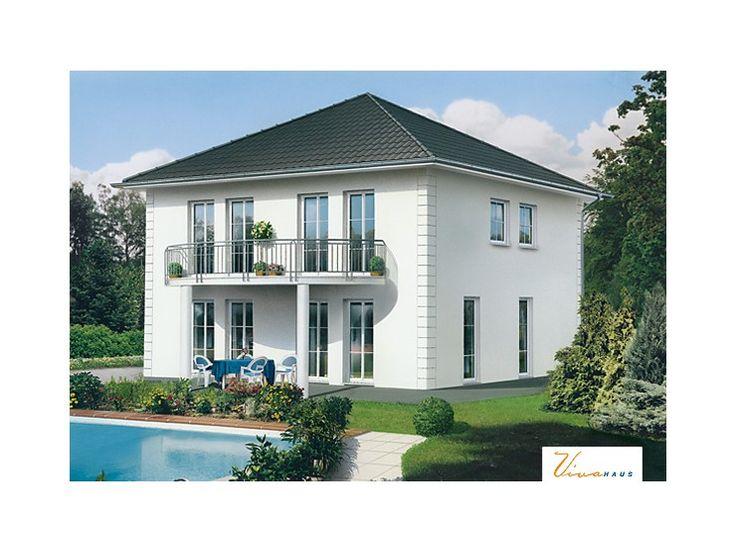 Wolkenstein einfamilienhaus von viva massivhaus gmbh for Stadtvilla klassisch