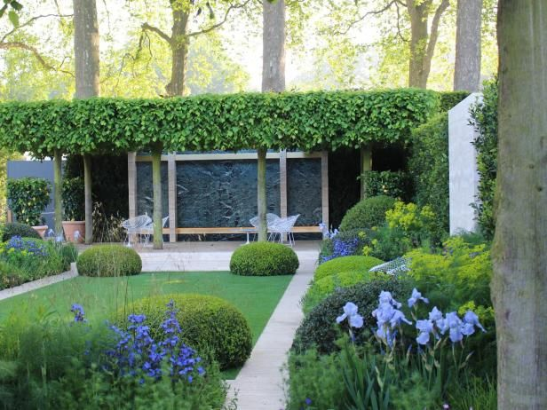 the international designers at the 2014 chelsea flower show provide copious design inspiration