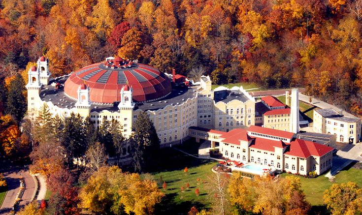 The West Baden Springs Hotel - once know as the 8th wonder of the world.