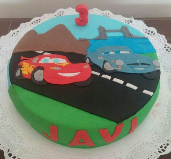 Tarta de Cars!! Felicidades Javi!!