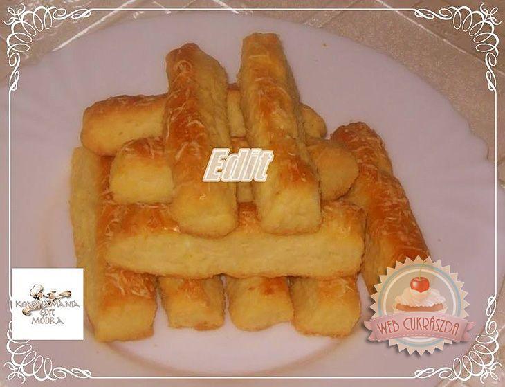 Túrós-sajtos rúd