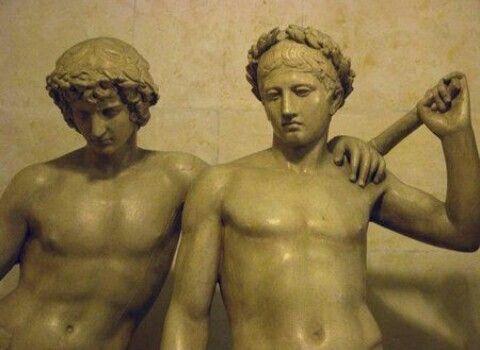 Escultura realizada por el método de vaciado.