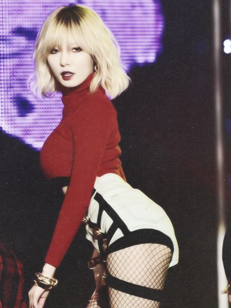 Hyuna - short blonde hair Come visit kpopcity.net for the largest discount…